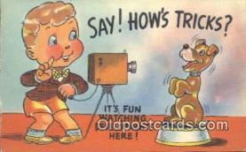 cam001578 - Camera Postcard, Post Card Old Vintage Antique