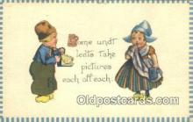 cam001590 - Camera Postcard, Post Card Old Vintage Antique
