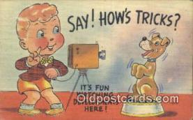 cam001594 - Camera Postcard, Post Card Old Vintage Antique