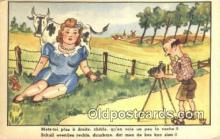 cam001602 - Artist Ray Camera Postcard, Post Card Old Vintage Antique