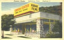 cam001607 - Camera Center, Gatlinburg, Tenn, USA Camera Postcard, Post Card Old Vintage Antique