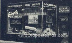 cam001913 - Camera Postcard, Post Card Old Vintage Antique