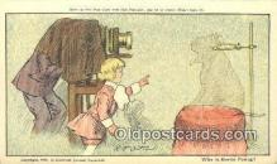 cam001920 - Buster Brown Series, Artist R.F. Outcault Camera Postcard, Post Card Old Vintage Antique