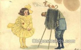 cam001943 - Artist R.F Outcault Camera Postcard, Post Card Old Vintage Antique
