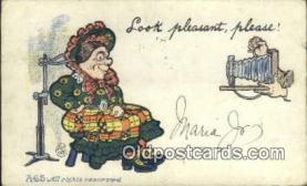 cam100001 - Camera Postcard Post Card Old Vintage Antique