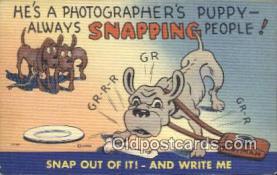 cam100004 - Camera Postcard Post Card Old Vintage Antique