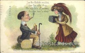 cam100011 - Camera Postcard Post Card Old Vintage Antique