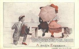 cam100013 - Camera Postcard Post Card Old Vintage Antique