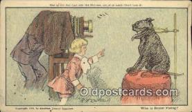 cam100038 - Buster Brown Camera Postcard Post Card Old Vintage Antique