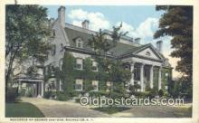 cam100041 - Residence of George Eastman, Rochester, NY USA Camera Postcard Post Card Old Vintage Antique
