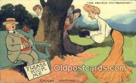 cam100044 - Artist Tom Browne Camera Postcard Post Card Old Vintage Antique