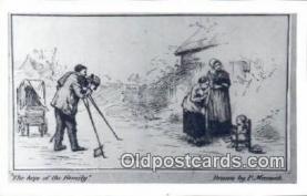 cam100054 - Camera Postcard Post Card Old Vintage Antique