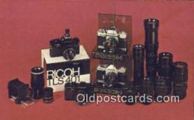 cam100055 - Camera Postcard Post Card Old Vintage Antique