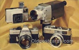 cam100094 - Precision Minolta Cameras Camera Postcard Post Card Old Vintage Antique