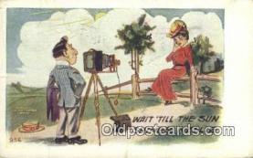 cam100100 - Camera Postcard Post Card Old Vintage Antique