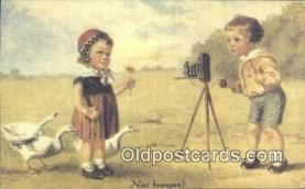 cam100113 - Camera Postcard Post Card Old Vintage Antique
