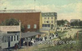 cam100153 - Portland Maine, Board Walk Peaks Island, USA Camera Postcard Post Card Old Vintage Antique