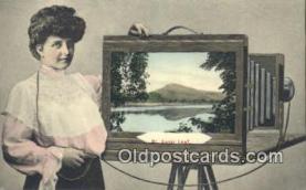 cam100190 - Camera Postcard Post Card Old Vintage Antique