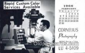 cam100200 - Cornelius Photography Inc. Tulsa Oklahoma, USA Camera Postcard Post Card Old Vintage Antique