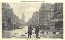 Souvenir des Indondations de Janvier 1910