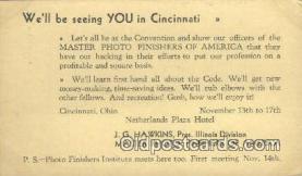 cam100210 - Camera Postcard Post Card Old Vintage Antique