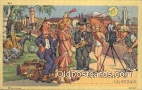 cam100214 - Camera Postcard Post Card Old Vintage Antique