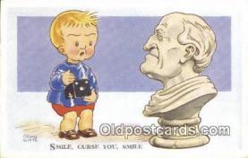 cam100226 - Artist Brian White Camera Post Card Postcard Old Vintage Antique