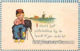 cam100510 - Camera Vintage Postcard