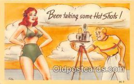 cam100511 - Camera Vintage Postcard