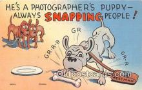 cam100525 - Camera Vintage Postcard