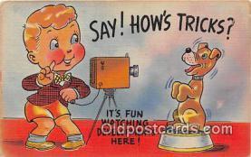 cam100528 - Camera Vintage Postcard