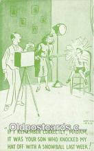 cam100547 - Camera Vintage Postcard