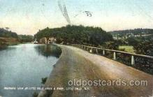 can001002 - Canal & River, Little Falls, NY, USA Canal, Canals, Postcard Post Card