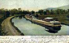 can001023 - Erie Canal Near Schenectady, New York, NY USA Canal, Canals, Postcard Post Card