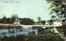 can100004 - Karlbergs Canal, Sweden Canal, Canals, Postcard Post Card