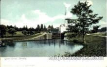 can100011 - Gota Canal, Sweden Canal, Canals, Postcard Post Card