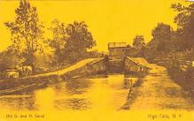 can200035 - Delaware and Hudson Canal Postcard Old Vintage Antique