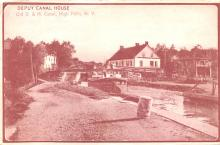 can200131 - Delaware and Hudson Canal Post Card Old Vintage Antique