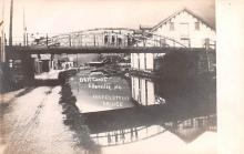 can200217 - Real Photo Delaware and Hudson Canal Post Card Old Vintage Antique