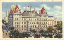 cap001004 - Albany, New York, N.Y., USA State Capitol, Capitols Postcard Post Card