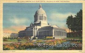 cap001005 - Olympia, Washington, Wa, USA Washington State Capitol, Capitols Postcard Post Card