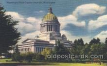 cap001010 - Olympia, Washington, Wa, USA Washington State Capitol, Capitols Postcard Post Card