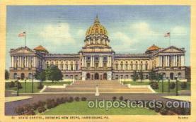 cap001016 - Harrisburg, Pennsylvania, PA, USA State Capitol, Capitols Postcard Post Card