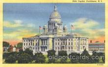cap001029 - Providence, Rhode Island, Rd, USA State Capitol, Capitols Postcard Post Card