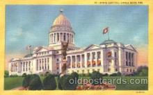 cap001033 - Little Rock, Arkansas, Ar, USA State Capitol, Capitols Postcard Post Card