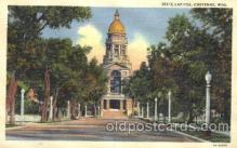 cap001039 - Chyenne, Wyoming, Wy, USA State Capitol, Capitols Postcard Post Card