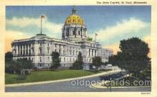 cap001041 - St. Paul, Minnesota, Mn, USA State Capitol, Capitols Postcard Post Card