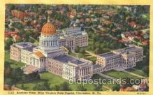 cap001047 - Charleston, Virginia, USA State Capitol, Capitols Postcard Post Card
