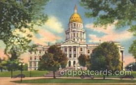 cap001052 - Denver, CO, USA State Capitol, Capitols Postcard Post Card