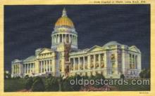 cap001055 - Little Rock, Arkansas, Ak, USA State Capitol, Capitols Postcard Post Card